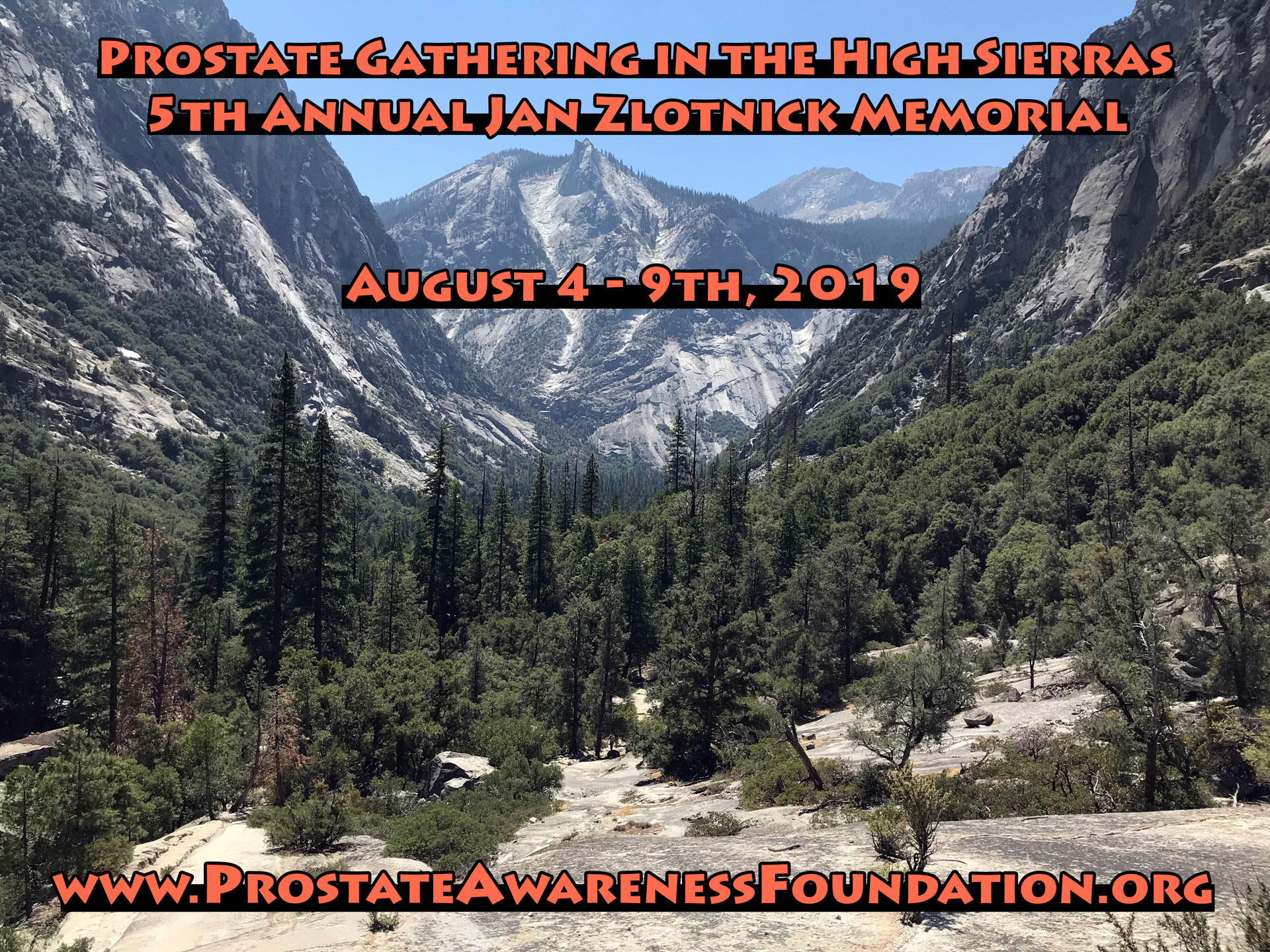 5th Annual Prostate Gathering, 2018